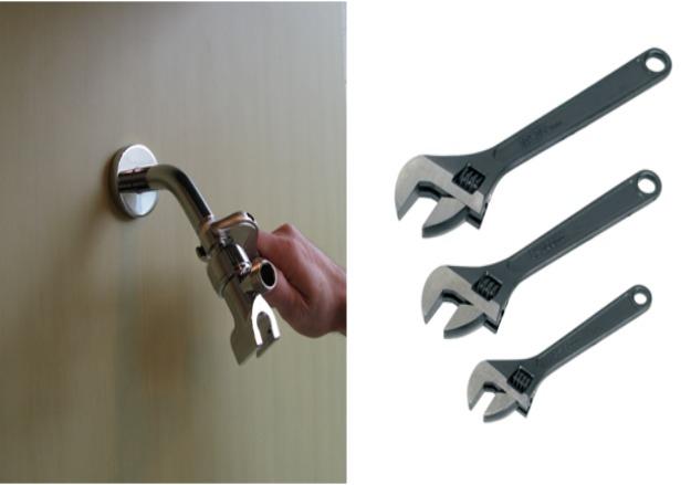cheia reglabila cu cap deschis