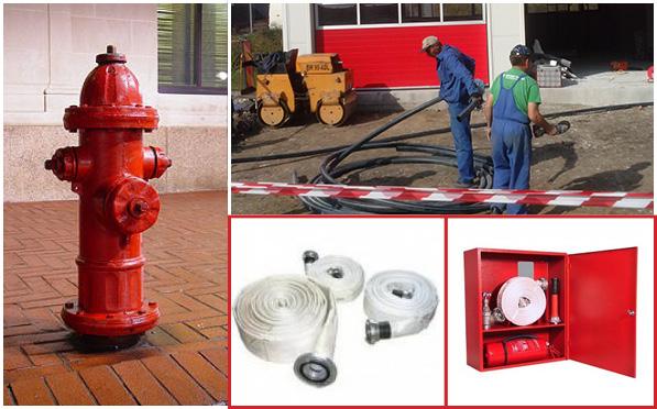 Tipuri de retele de hidranti
