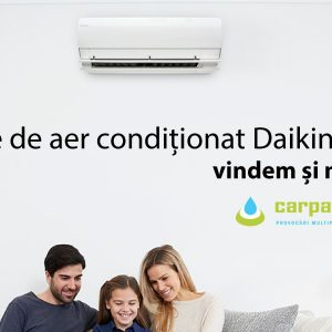 Aparate de aer conditionat Daikin vindem si montam